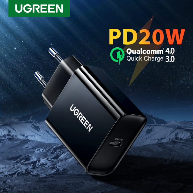 UGREEN PD зарядное устройство 20 Вт 1