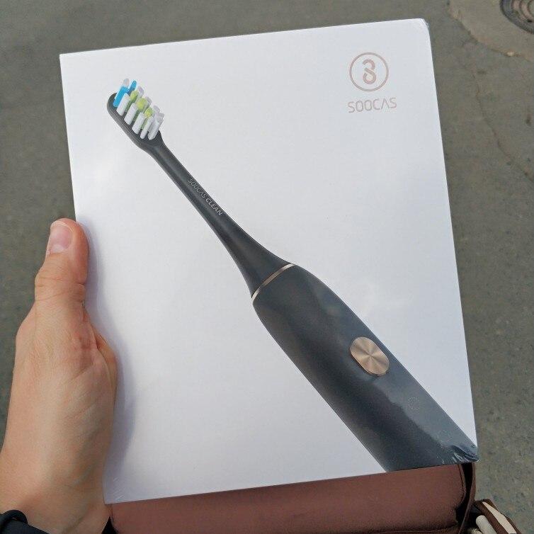 Электрическая зубная щетка Soocas X3 Black