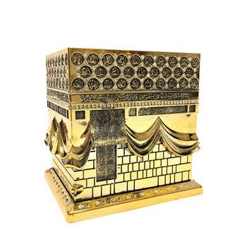 Islamski stół do domu ornament 3D 16 Cm kaaba islamski prezent hajj Hadj Umra Makkah ديكور المنل ابي eid ramadan tanie i dobre opinie TR (pochodzenie) Europejska People Z tworzywa sztucznego