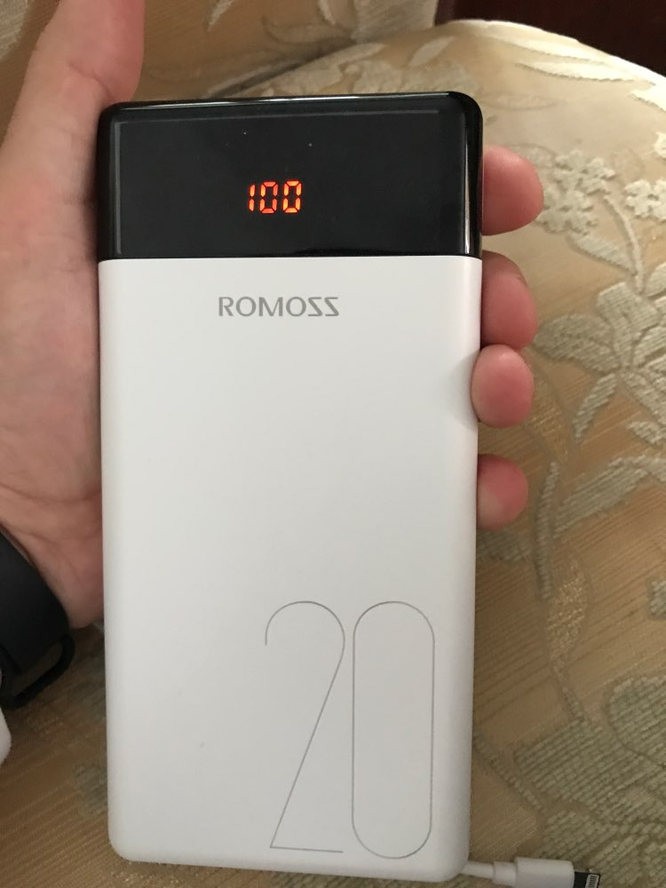 ROMOSS LT20 Power Bank 20000mAh Dual USB  Portable Charger With LED Display Fast External Battery For Phones Tablet For Xiaomi|Power Bank|   - AliExpress