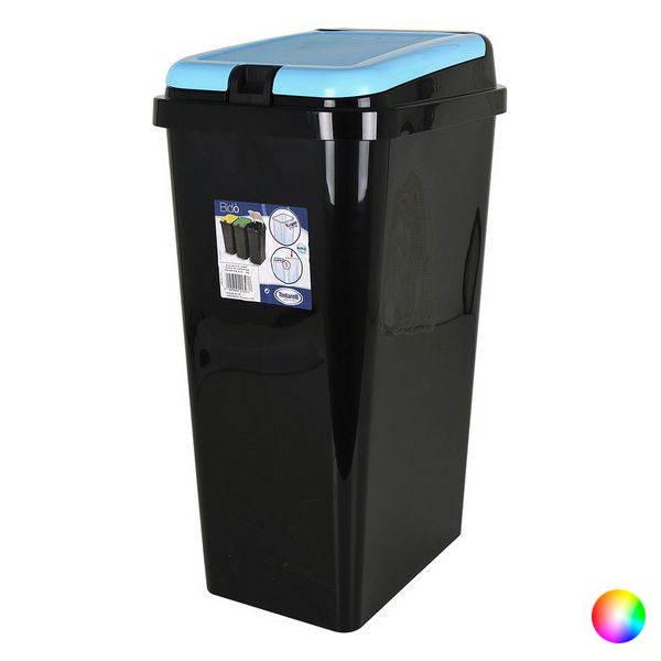 Ev ve Bahçe'ten Katlanabilir Depolama Çantaları'de Çöp kutusu Tontarelli 45 L plastik dikdörtgen (40X29x65 cm) title=
