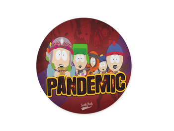 WuW South Park Round Non Slip Mouse Pad