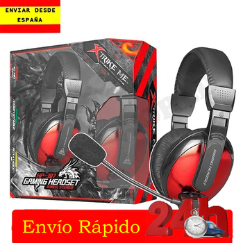 Helmet headset gaming with microphone for PS4/NINTENDO Switch/XBOX ONE/laptop/TABLET/mobile XTRIKE ME HP-307