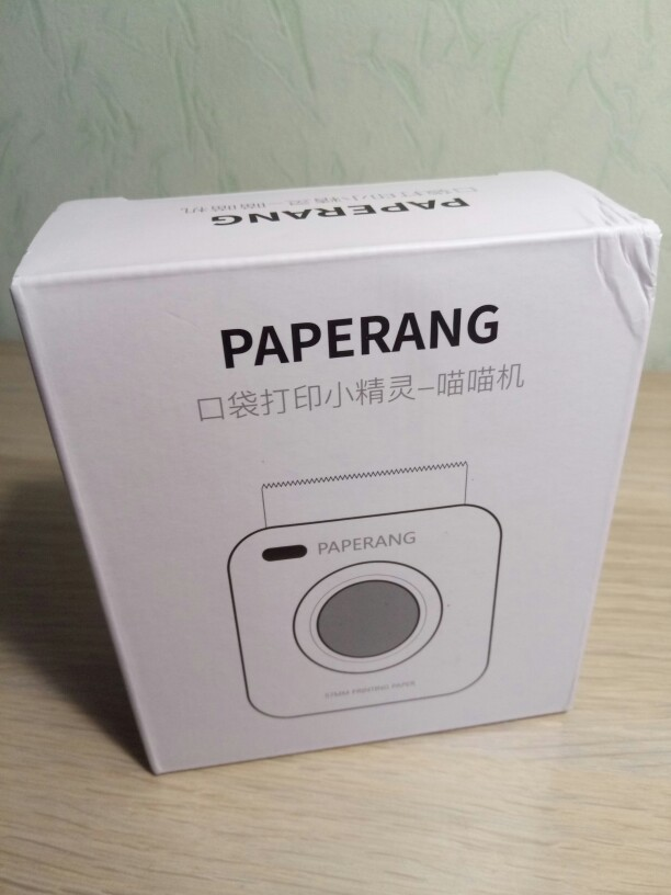 PAPERANG P2 Pocket Portable Bluetooth Photo Printer Mini 300 DPI Thermal Label Sticker Printer For Mobile Phone P1 200 DPI-in Printers from Computer & Office on AliExpress