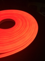 Flexible neon, LED strip, in silicone, flexible light, neon in silicone, outdoor lighting, 12v, IP67, 9.6 W