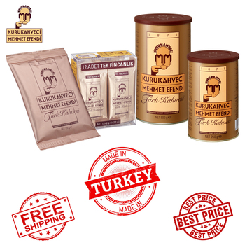 цена на Turkish Coffee Kurukahveci Mehmet Efendi 6g 100g 250g 500g English Ground Coffee - Made in Turkey - Fast & Free Shipping