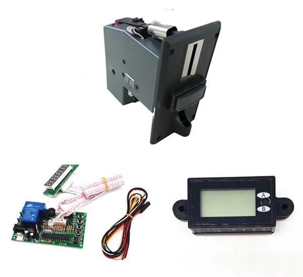 1 KIT de JY 92PX + JY 15B + JY 263 multi accepteur de pièces avec minuterie de temps dispositif de contrôle pour café kiosque-in Pièces de rechange et accessoires from Electronique    1