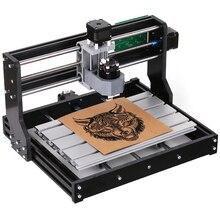 CNC 3018 פרו מיני לייזר חריטת מכונת GRBL DIY מכונת חריטת עץ PCB PVC גילוף כרסום מכונת חריטת ER11