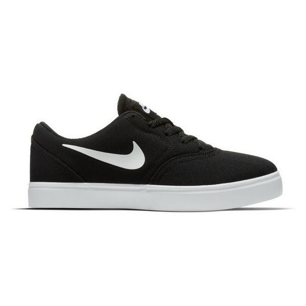 Children's Casual Trainers Nike SB Check CNVS Black