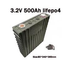 Solar batterie 5G LiFepo4 batterie 3,2 v 500Ah 16 stücke/los umfassen 18 stücke sammelschienen und 36 stücke schrauben