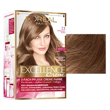 Loreal Excellence farba do włosów 7 1 Auburn Ashy 247230661 tanie i dobre opinie