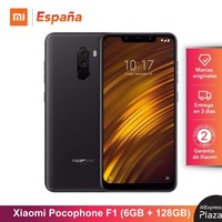 [Global Version for Spain] Xiaomi Pocophone F1 (Memoria interna de 128GB, RAM de 6GB, Camara 12MP+5MP, Snapdragon 845)