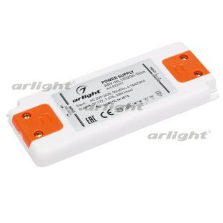 022191(1) Power Supply Arv-sn12020-flat-h (12V, 1.67a, 20W) Arlight Box 1-piece