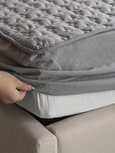 Bed-Cover Embossed QUILTED-KING Washable ADOREHOUSE Queen-Size Cotton