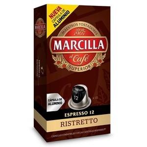 RISTRETTO, 10 caps aluminium Marilla