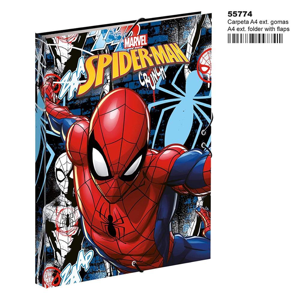 Spiderman-carpetas, (Montichelvo MC-55774)