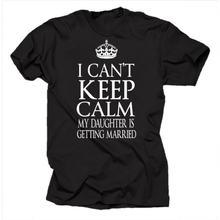 Горячая Распродажа свадебный подарок я не могу keep calm i дочка