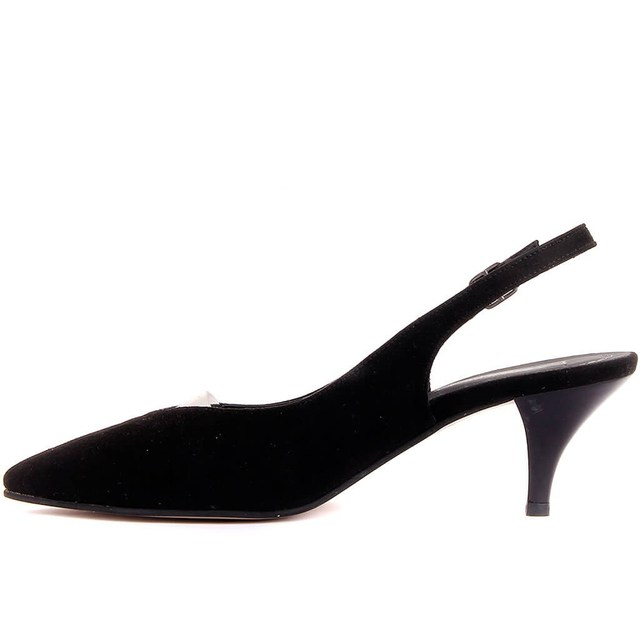 Moxee-Suede Buckled Women's Stiletto