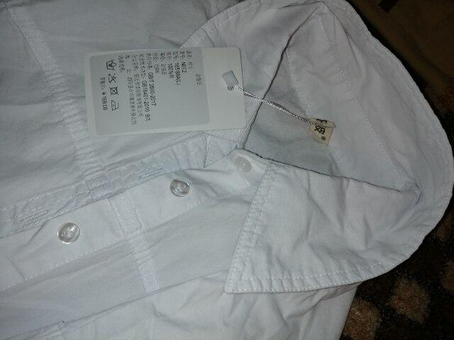 Elegant Long Blouse White Shirt Women Ladies Office 100% Cotton Shirts Casual Cotton Blouse Fashion Blusas Femininas photo review