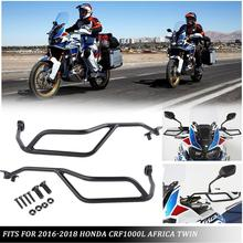 Handguard Protector for Honda CRF1000L Africa Twin CRF 1000L 2016 2017 2018 Motorcycle Parts Accessories Steel Handlebar handguard protector for honda crf1000l africa twin crf 1000l 2016 2017 2018 motorcycle parts accessories steel handlebar