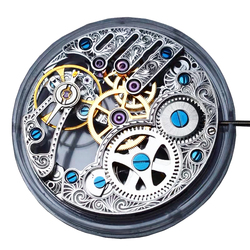 Genuine Seagull mechanical St3620k TY3620-2B SILVER Manual Skeleton Hand Winding ST36 movement parts ETA 6498 screw Part
