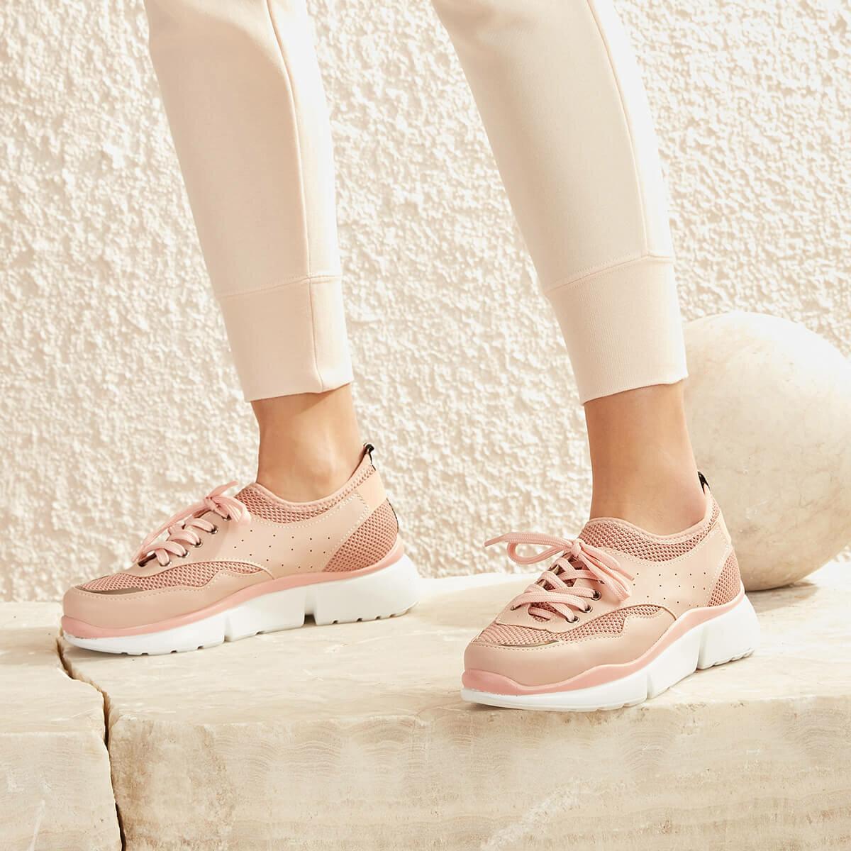 FLO MELTEM04Z SKIN Powder Women 'S Sneaker Shoes BUTIGO