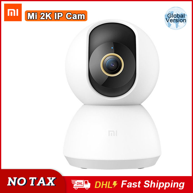 Xiaomi Mi Smart IP Camera 2K HD 1296P Baby Monitor Cam 360 Angle Surveillance Camera Ai Human Detection Home Security Camera