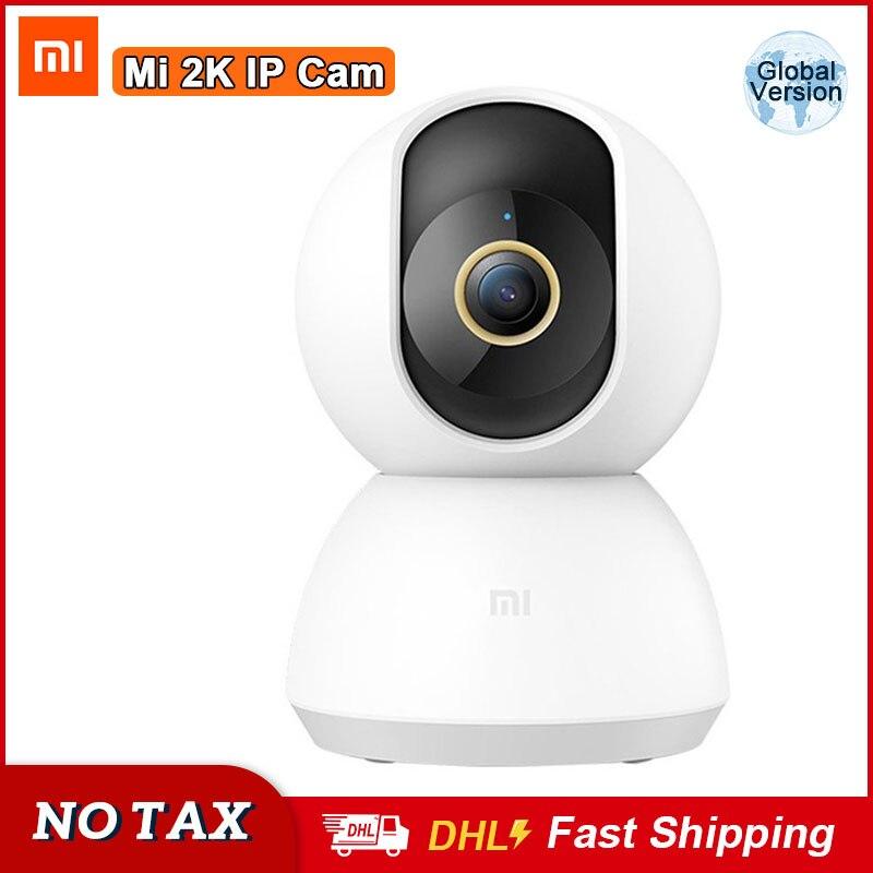 Xiaomi Mi caméra IP intelligente 2K HD 1296P bébé moniteur Cam 360 Angle Surveillance caméra Ai détection humaine caméra de sécurité à domicile