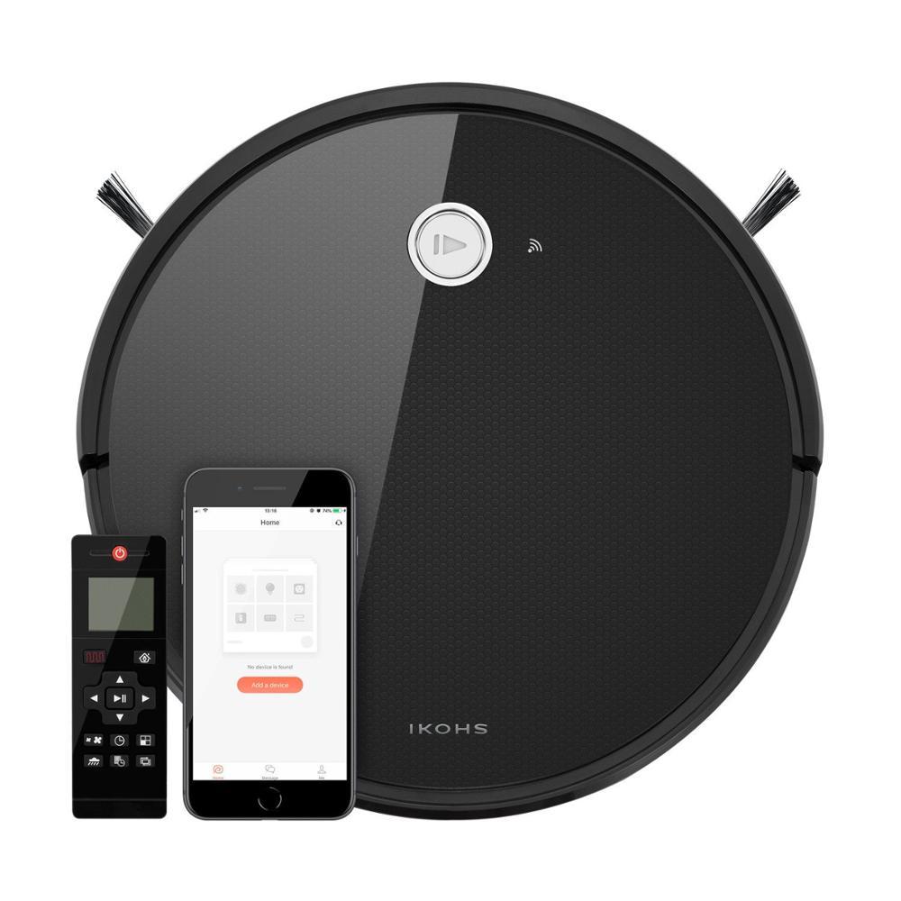 IKOHS NETBOT S15 робот умный пылесос черный пылесос Профессиональный Домашний приложение Беспроводной интеллектуальный