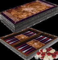 Board Game Artwork Ancient World Map Wooden Backgammon Checkers Chessboard Set Gerd Altmann Entertainment Gift Travel