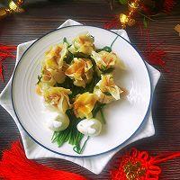 #太太乐鲜鸡汁芝麻香油#鸡汁兰花的做法图解13