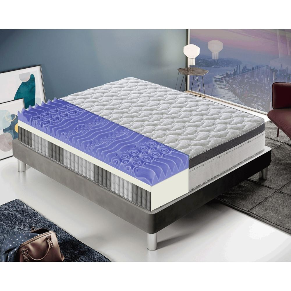 Single Or Double Mattress With Pocket Springs And Memory Foam. 27cm Tall. 7cm Memory. High Resilient Elastic Density