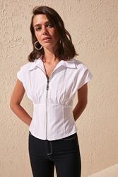 Modny Shir szczegółowy Bluz TWOSS20BZ0889
