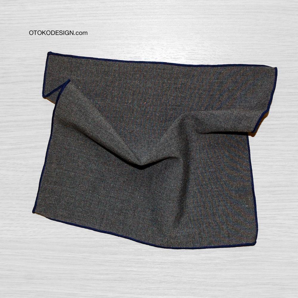 Gray Pocket Square (50288)