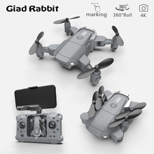 KY905 Mini Drone 4K Quadcopter HD Camera WiFi Photography FPV Helicopter Remote Control LED Light Altitude Hold Foldable RC Dron