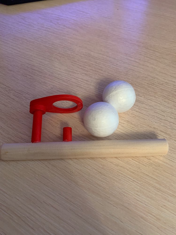 Juguetes para soplar de madera