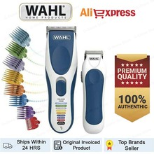 Wahl Hair Clippers for Men Colour Pro Cordless Combo Kit Shaver Hair Clippers with Beard Trimmer and Colour Coded Clipper Guides
