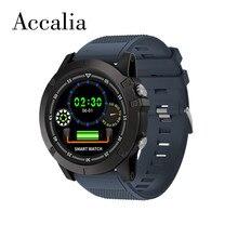 Accalia JW001 Smart Watch IP68 Waterproof  Heart rate Brood Pressure Monitor HD screen Bracelet man support android ios