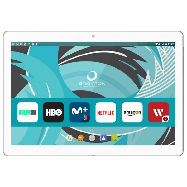 "Tablet BRIGMTON BTPC 1022 10 1"" Quad Core 16 GB 2 GB RAM White Tablets     - title="
