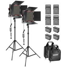 Neewer 2 шт в упаковке двухцветный 660 светодиодный видео свет