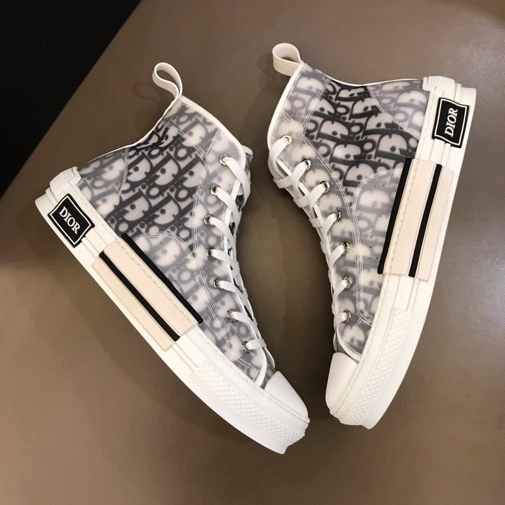 B23 High Top Sneakers Dior Luxury Shoes For Man And Women 2020 Designer Shoes Luxury Sneakers