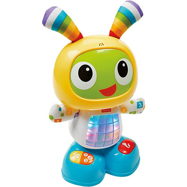 Interactive Toy Fisher-Price Educational Robot Бибо MTpromo