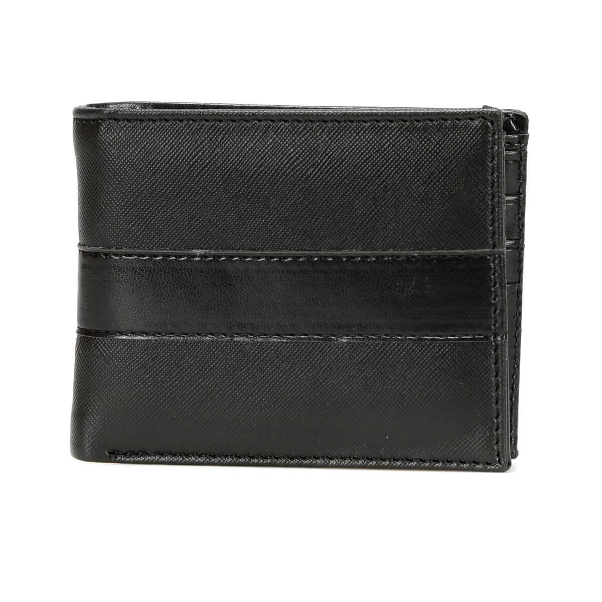 FLO MKNY2206 Black Male Wallet Garamond