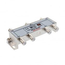 Teiler 6 ausgänge 5-1000 MHz CADENA. Splitter auf 6. Verwendet für TV signal Division auf 6