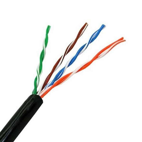 Câble réseau rigide UTP catégorie 5e NANOCABLE 10.20.0304-EXT-BK 305 m noir