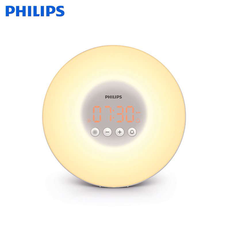 купить Wake-up Light Philips HF3500/70 alarm clock дешево
