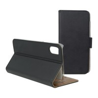 Funda de teléfono móvil Folio Iphone X cartera negra