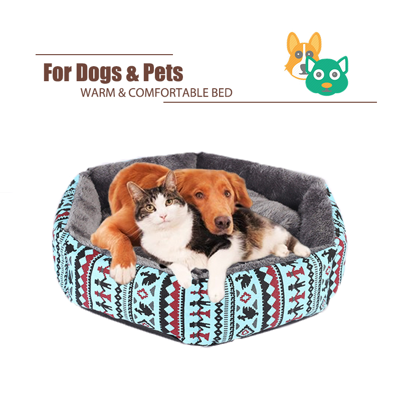 Pet Cat Sofa Dog Beds Waterproof Bottom Soft Fleece Warm Bed Mat Kennel for Small Medium Large Anti-Slip