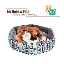Pet Cat Sofa Dog Beds Waterproof Bottom Soft Fleece Warm Bed Mat Kennel for Small Medium Large Anti-Slip