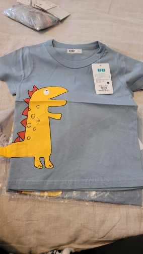 Children's T-Shirt Children for Boys a Boy Girls Kids Kid's Shirts Child Baby Toddler Cotton Cartoon Tee Tops Clothing Short photo review